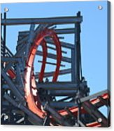 Wicked Cyclone Stall Acrylic Print