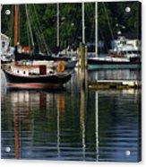 Wickford Harbor Acrylic Print