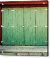 Wide Barn Door Acrylic Print
