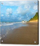Wide Beach And Nature Acrylic Print