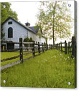 Widener Farms Horse Stable Acrylic Print