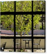 Wiew Out The Window Acrylic Print