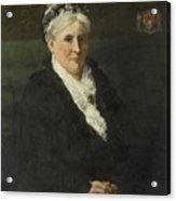 Wife Of David Menno Acrylic Print