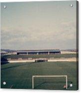 Wigan Athletic - Springfield Park - The Grassy Bank 1 - 1969 Acrylic Print