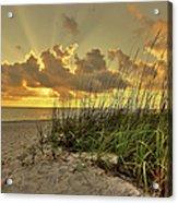 Wiggins Pass Sunset Acrylic Print