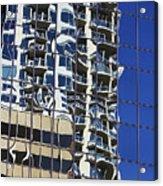 Wiggly Balconies Acrylic Print