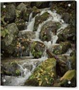 Wigwam Falls Blue Ridge Parkway Acrylic Print