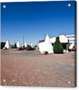 Wigwam Motel #2 Acrylic Print