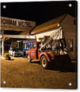Wigwam Motel #3 Acrylic Print