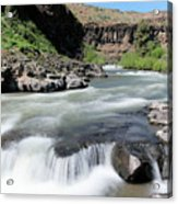 Wild And Scenic White River Acrylic Print