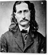 Wild Bill Hickok - American Gunfighter Legend Acrylic Print