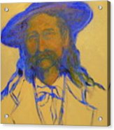 Wild Bill Hickok Acrylic Print by Johanna Elik