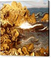 Wild California Coast - Modern Art Acrylic Print