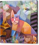 Wild Cat Blues Acrylic Print by Lutz Baar
