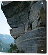 Wild Cat Trap At Chimney Rock Nc Acrylic Print