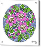 Wild Cherry Blossoms Acrylic Print