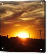 Wild Clouds Acrylic Print