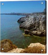 Wild Coast Cyprus Acrylic Print