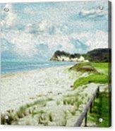 Wild Coastline Acrylic Print