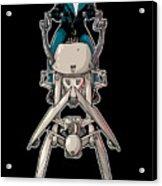 Wild Endor Aka Johnny Strabler On A Speeder Bike Acrylic Print