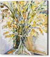 Wild Flowers #3 Acrylic Print