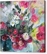 Wild Flowers Bouquet 01 Acrylic Print