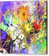 Wild Flowers Bouquet 02 Acrylic Print