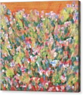 Blooming With Joy Acrylic Print