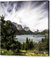 Wild Goose Island Glacier Park 4 Acrylic Print