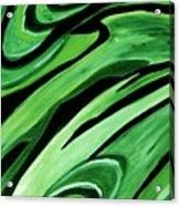 Wild Green Acrylic Print