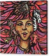 Wild Hair Acrylic Print