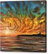 Wild Hearted Sun - Santa Cruz Acrylic Print