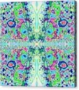 Wild Island Creation 1 Fractal B Acrylic Print