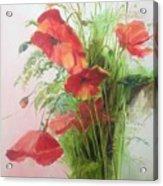 Wild Poppies Acrylic Print