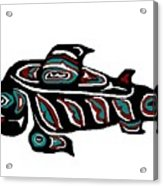 Wild Salmon Acrylic Print