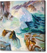 Wild Sea Acrylic Print
