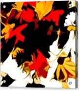 Wild Side Of A Flower Acrylic Print