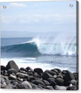 Wild Wave Acrylic Print