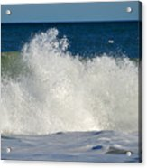 Wild Waves Acrylic Print