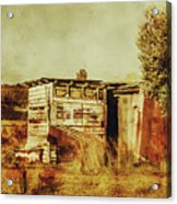 Wild West Australian Barn Acrylic Print