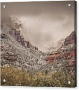 Boynton Canyon Arizona Acrylic Print