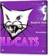 Wildcat 90 Logo Semi Comp4 Acrylic Print