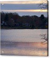 Wilde Lake At Sunset Acrylic Print