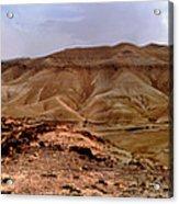 Judean Desert Acrylic Print