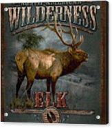 Wilderness Elk Acrylic Print by JQ Licensing