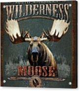 Wilderness Moose Acrylic Print