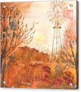 Wilderness Windmill Acrylic Print