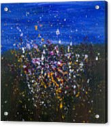 Wildflower Abstraction Acrylic Print
