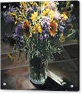 Wildflower Bouquet II Acrylic Print