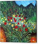 Wildflower Garden 1 Acrylic Print